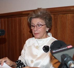 María Castellano Arroyo en Almuñecar. Cursos de verano de la ugr